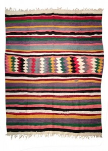 Swinging&amp; handwoven unique Kilim-carpet at kira-cph.com