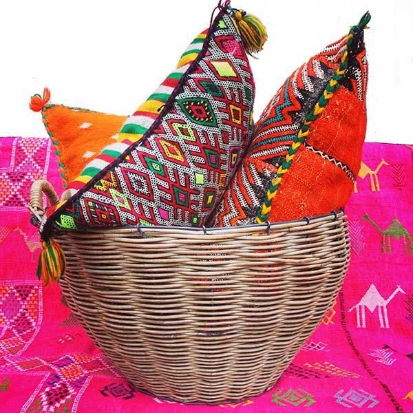 puder fra marokko, cushions from marocco