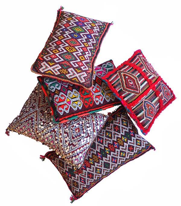 unikapuder fra marokko, unique cushions from marocco